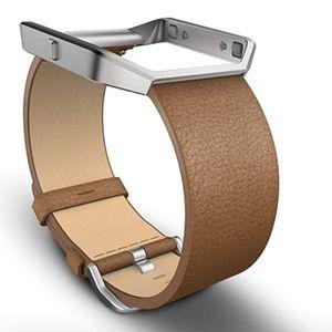 Fitbit Blaze Leather Accessory Band & Frame BNIB